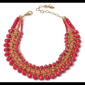 Hot Pink Cleo Necklace